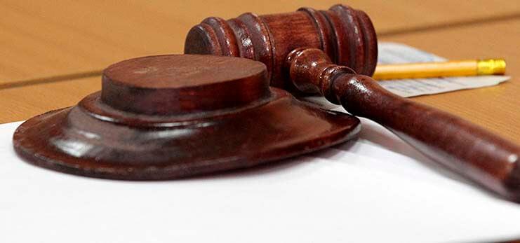 Какие проводки по решению суда